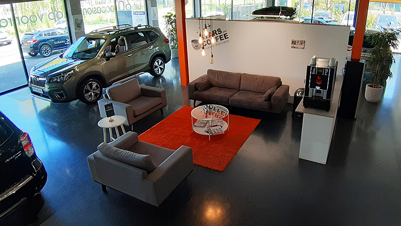 Subaru Kleinwier Koffiehoek Binnen