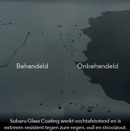 Subaru Glass Coating
