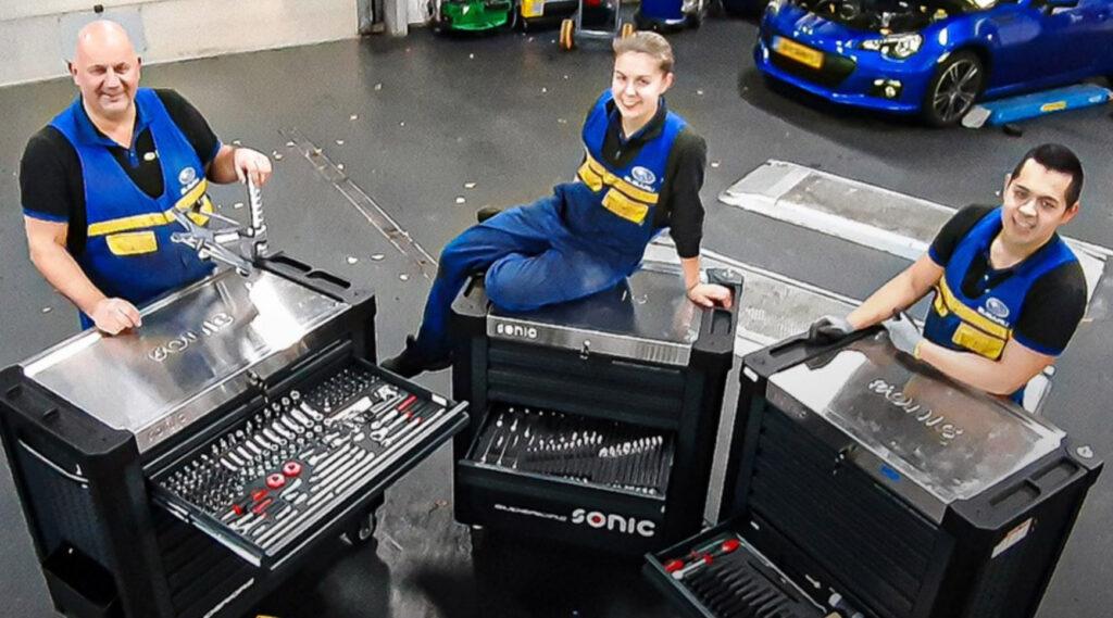 Subaru Kleinwier Werkplaats Team